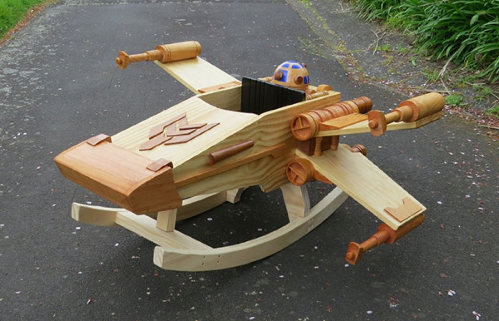 Rocking Ride-in Spaceship - Il Dondolo X-Wing
