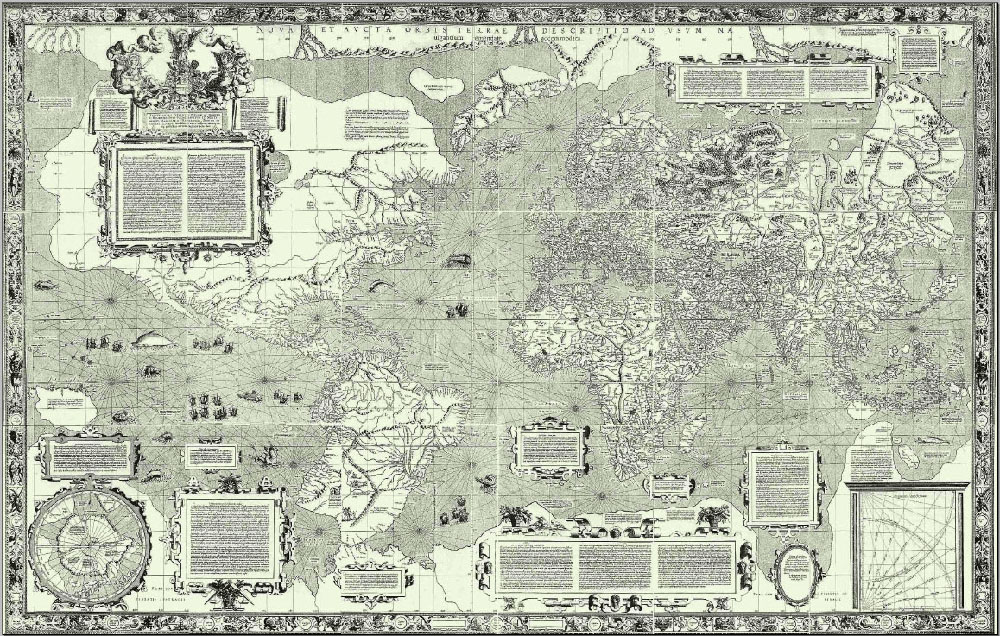 L'ingannevole mappa di Mercatore