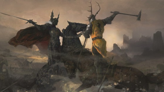 Rhaegar Targaryen e Robert Baratheon si scontrano nella Battaglia del Tridente (Martin, G.R.R., Garcìa, E.M., Antonssen, L., 2014. The World of Ice and Fire: the Untold History of Westeros and The Game of Thrones).