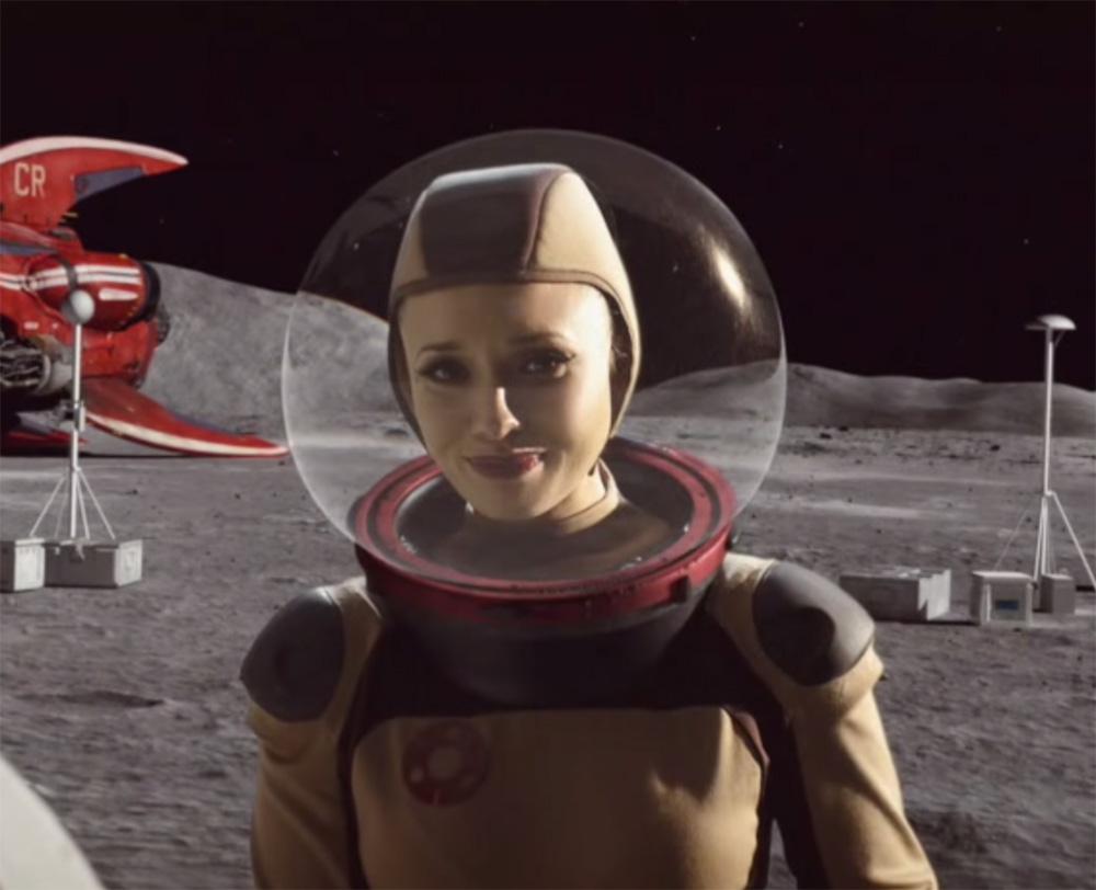 Over the Moon - Cortometraggio