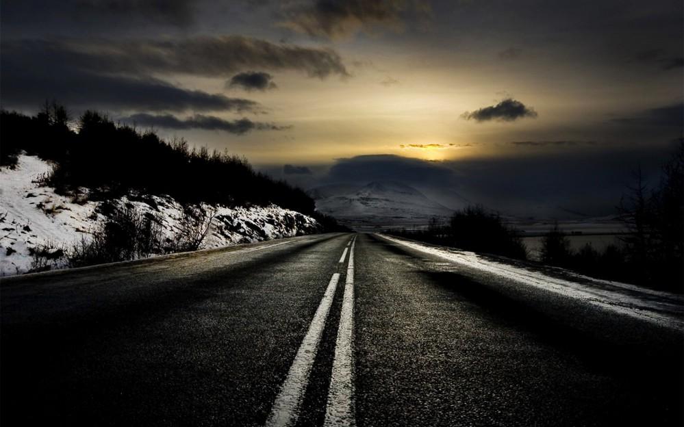dark-winter-road