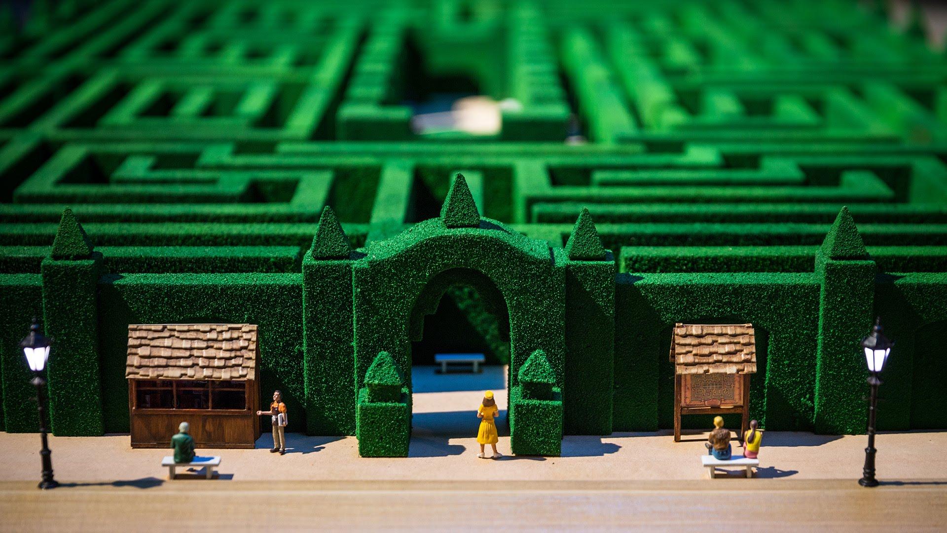 Il labirinto dell'Overlook Hotel