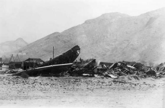 ACCIDENT DE L'AVION AMERICAIN B-52 A PALOMARES EN ESPAGNE 1966