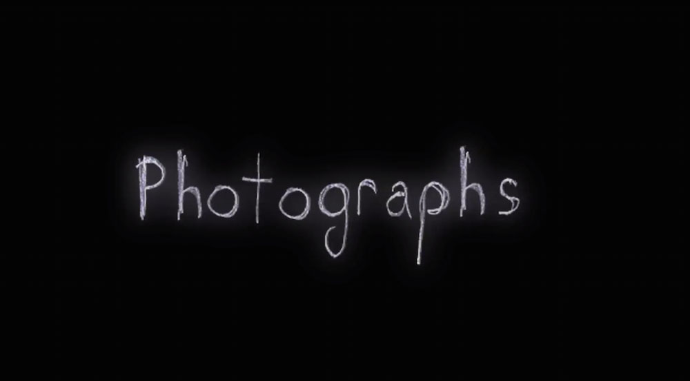 Photographs - Cortometraggio