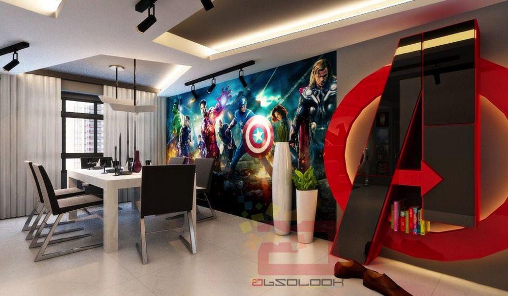 Una casa da Avenger