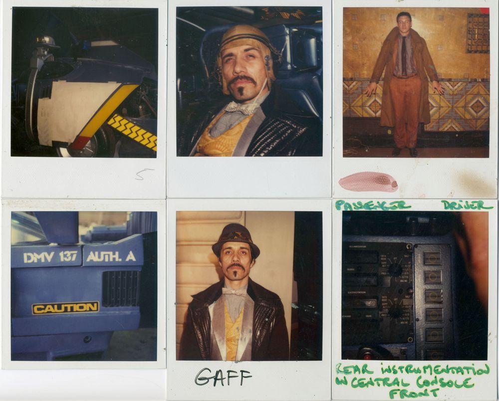 Blade Runner, una mega gallery dietro le quinte