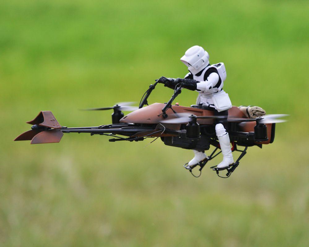 Star Wars Speeder Bike Radiocomandato