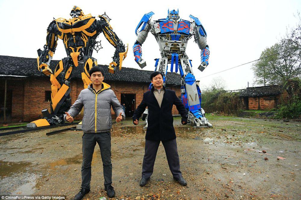 TransFarmers, i robottoni Made in China