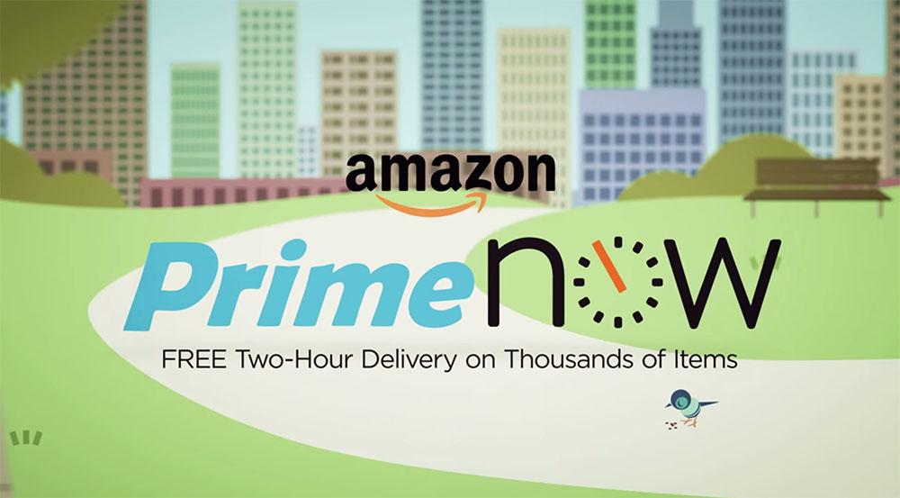 Amazon Prime Now, consegna entro un'ora (ma solo a New York)