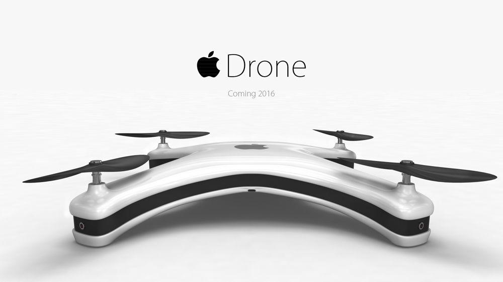 Apple Drone, il concept che non ti aspetti