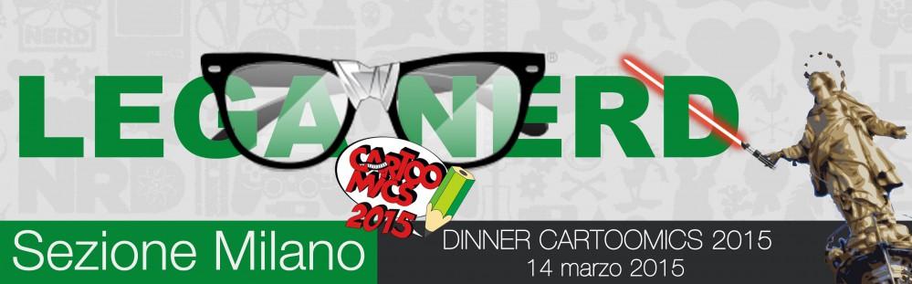 Lega Nerd Milano - cartoomics header