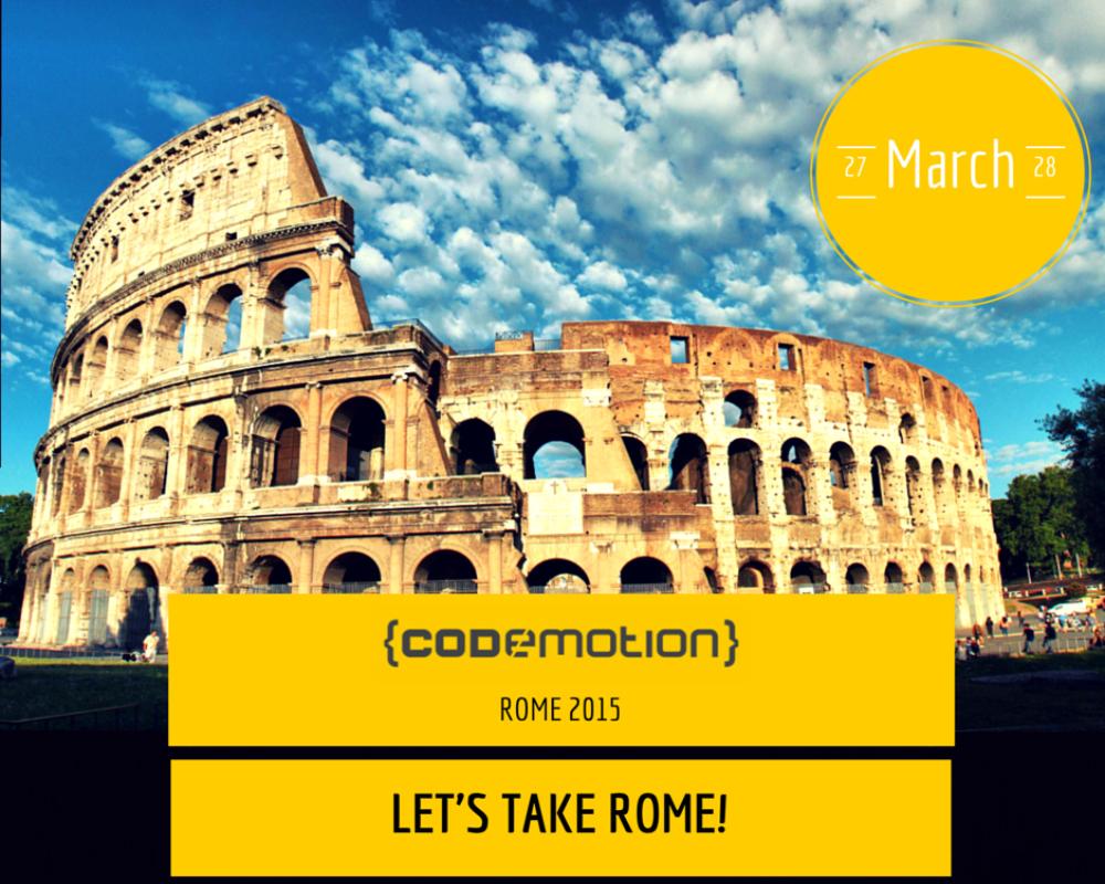 Codemotion Rome 2015