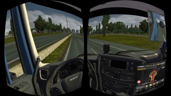 Ecco un esempio di come Trinus Gyre trasforma la visuale in un gioco.