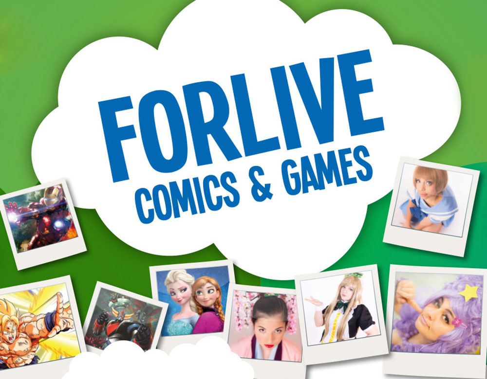 Forlive Comics and Games 2015