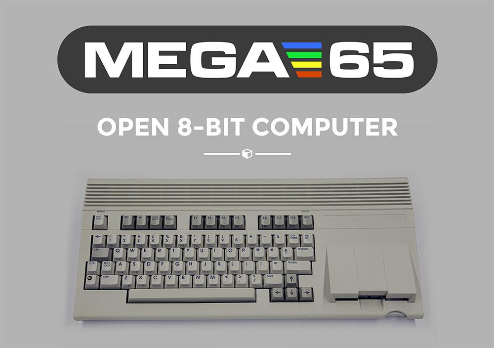 MEGA65, il discendente del C64