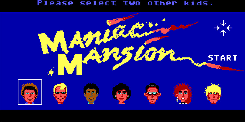 Gioca ora a Maniac Mansion