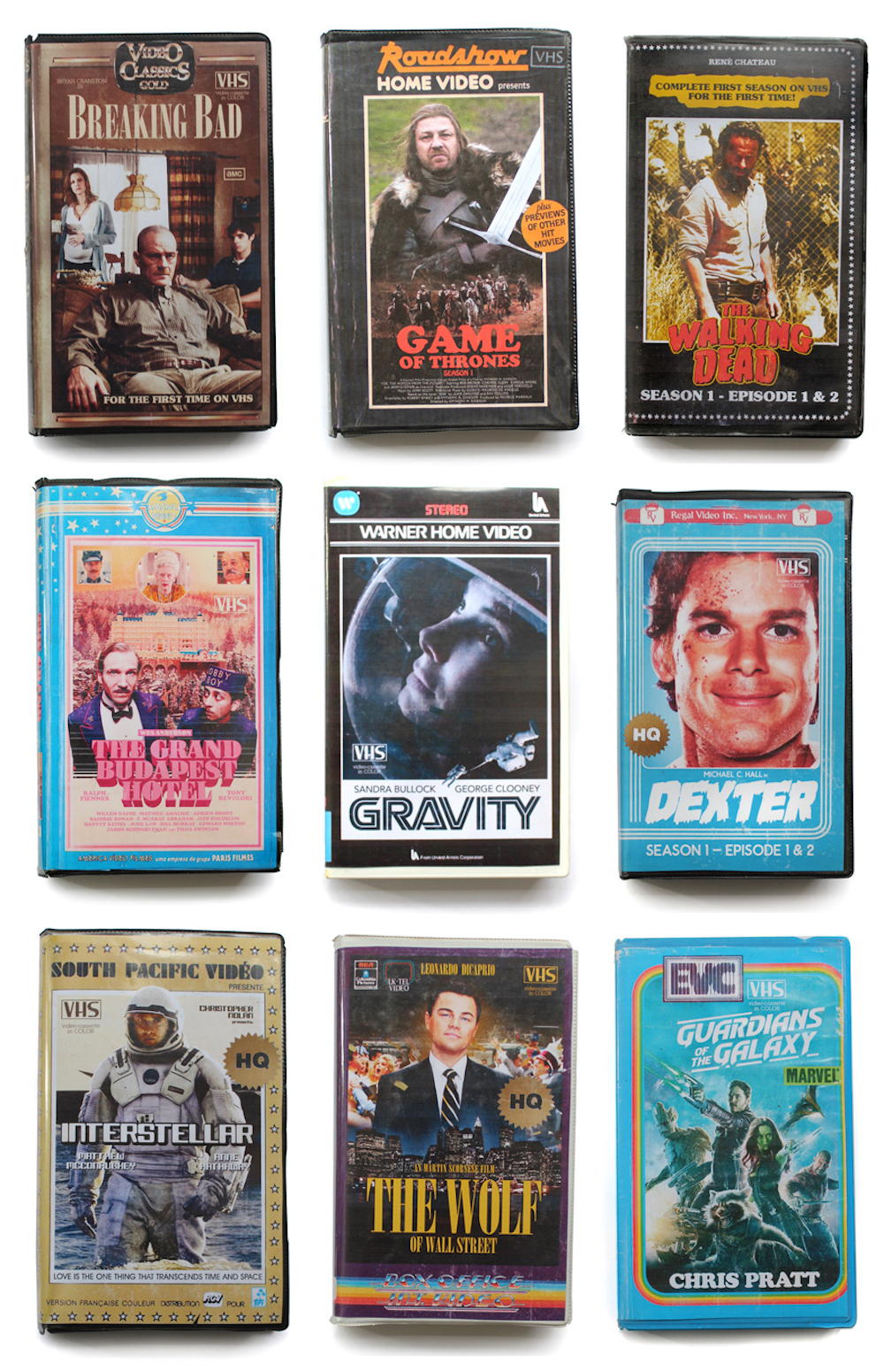 80's VHS covers