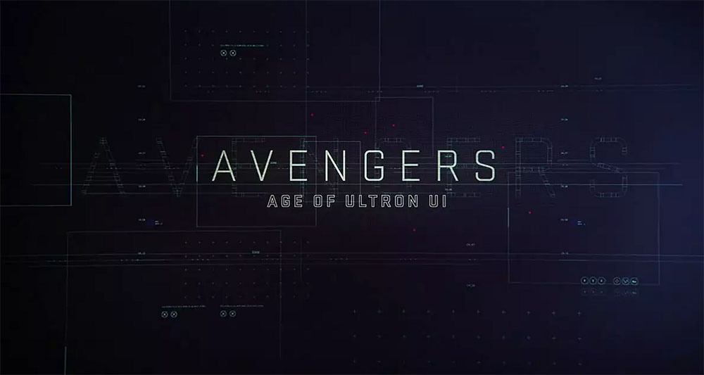 Avengers: Age of Ultron User Interface