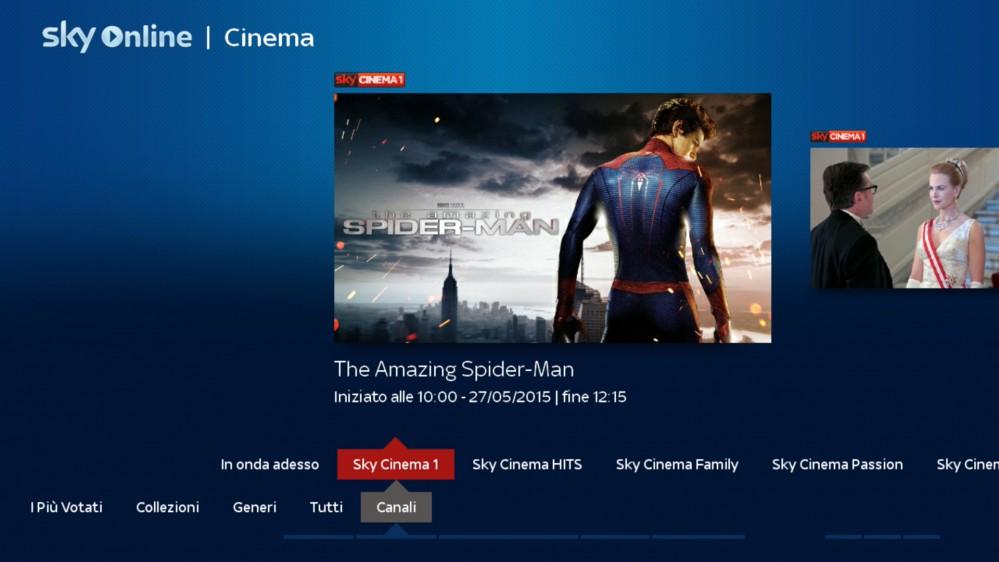 Sky Online TV Box Interfaccia 16