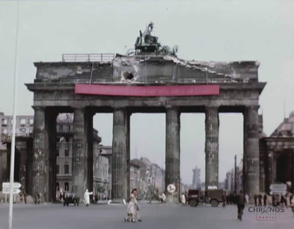 Berlino nel Luglio del 1945 a colori