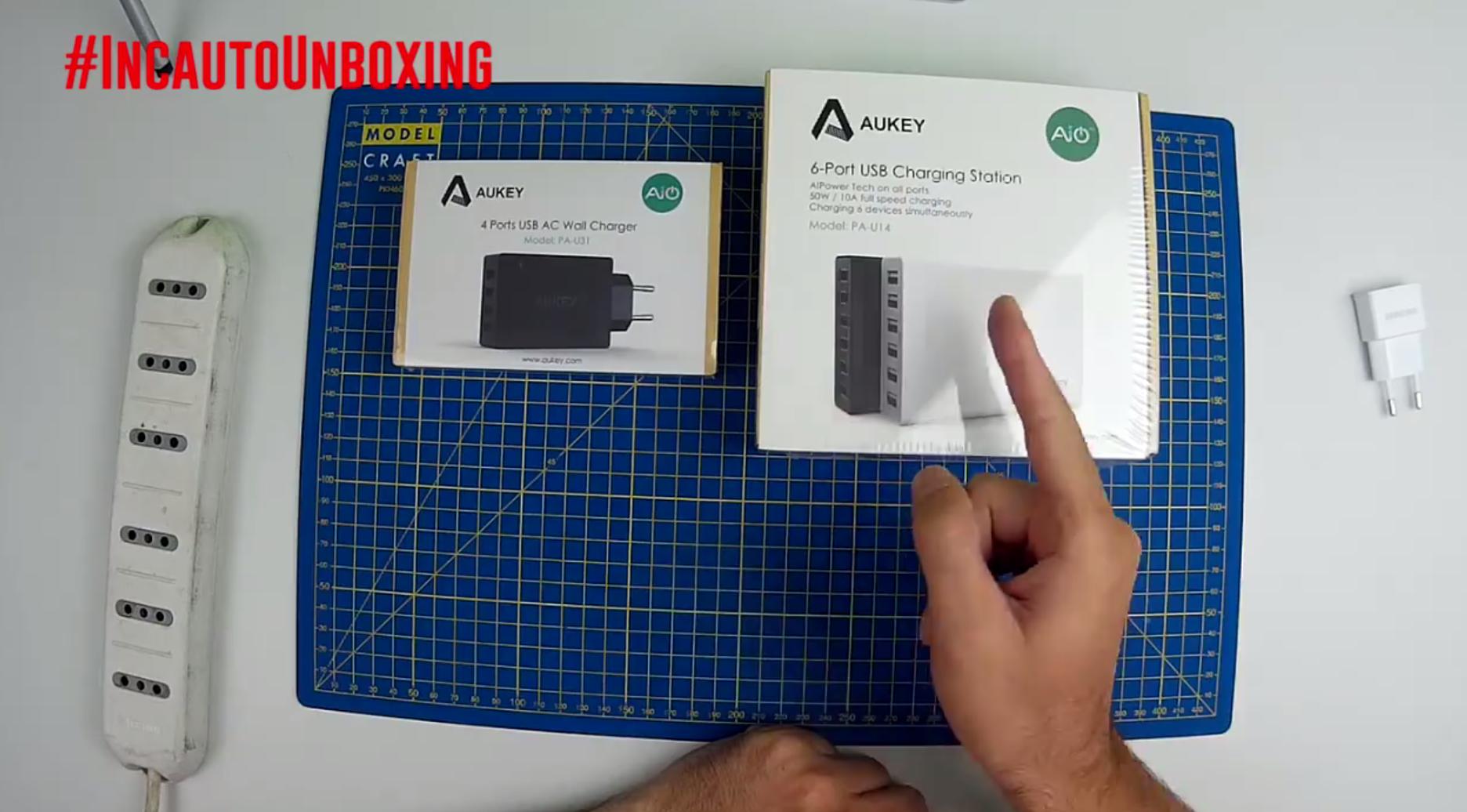 #IncautoUnboxing Speciale caricatori USB