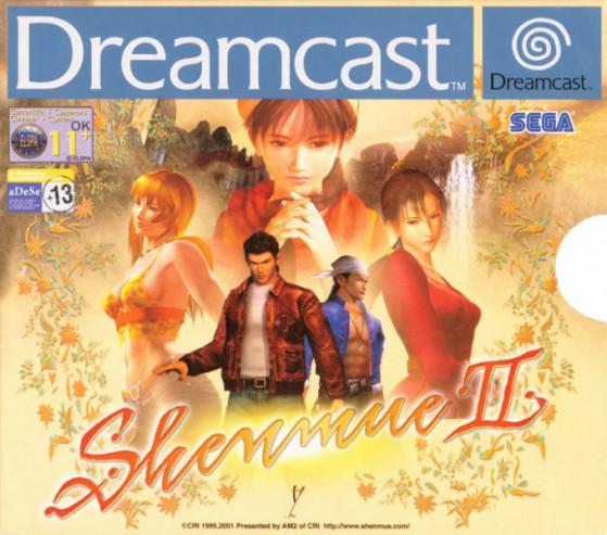 Cover Dreamcast EU Shenmue II