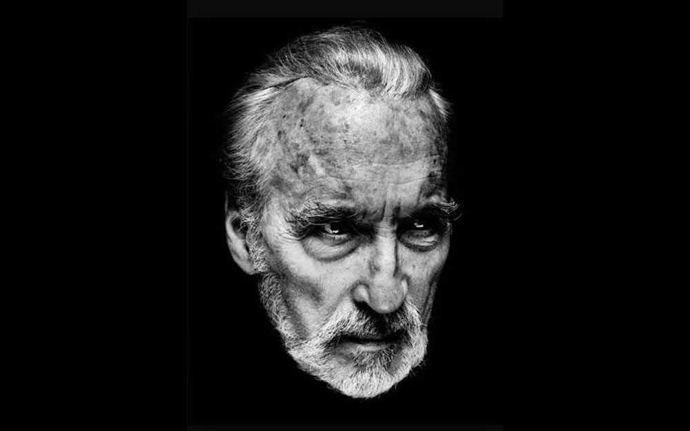 Addio a Christopher Lee