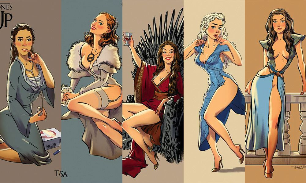 Game of Thrones Pin-Up