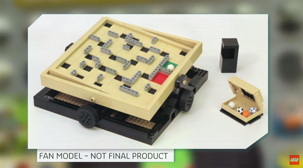 Lego Ideas #013: Labyrinth Marble Maze