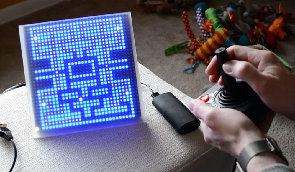 1-Pixel Pac Man