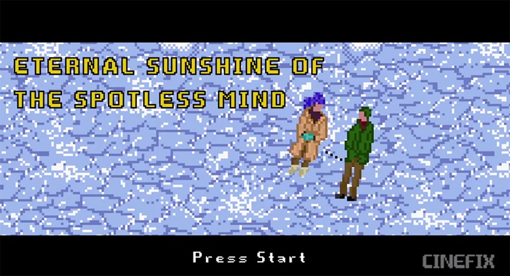 Eternal Sunshine of the Spotless Mind - Cortometraggio 8 Bit