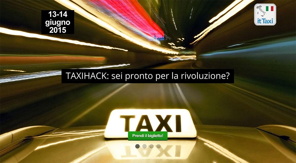TaxiHack, l'Hackaton di RadioTaxi
