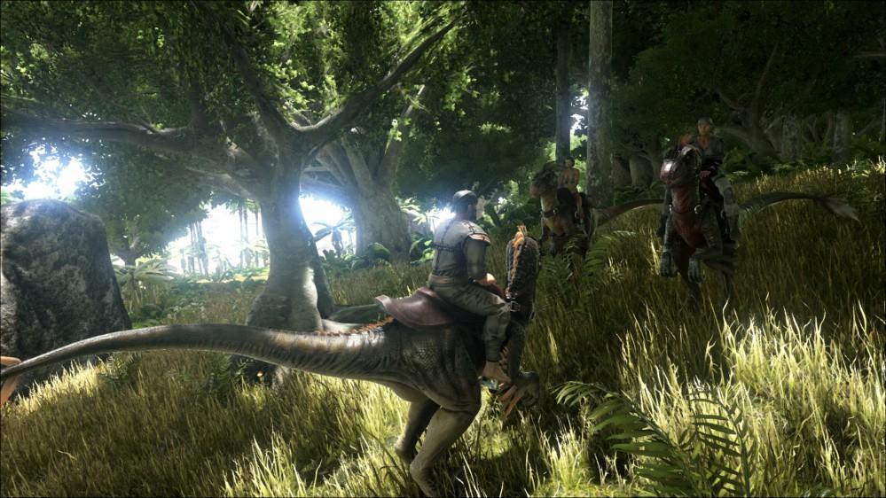 Ark_Survival_Evolved_riding_dinosaur