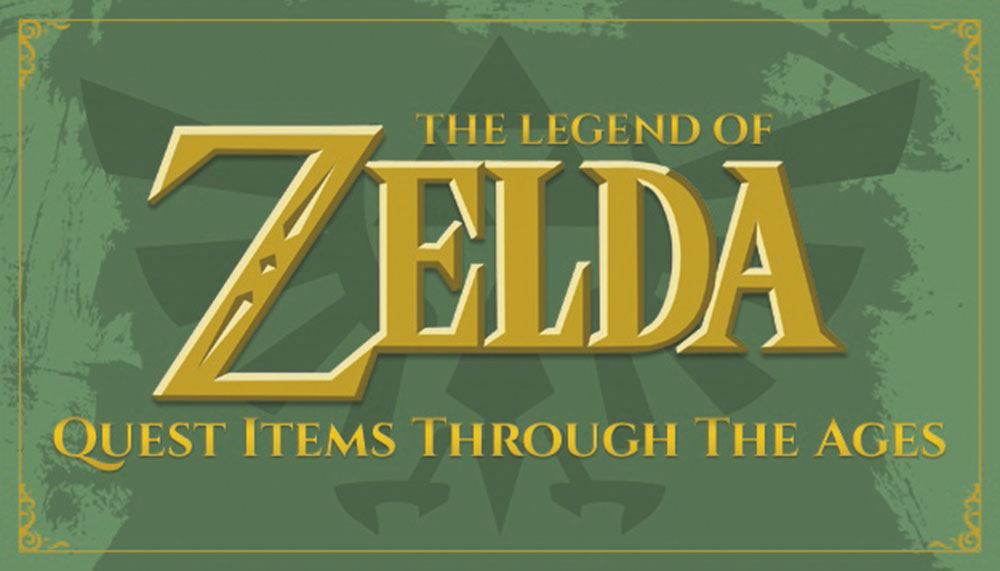 L'evoluzione dei Quest Item di The Legend of Zelda