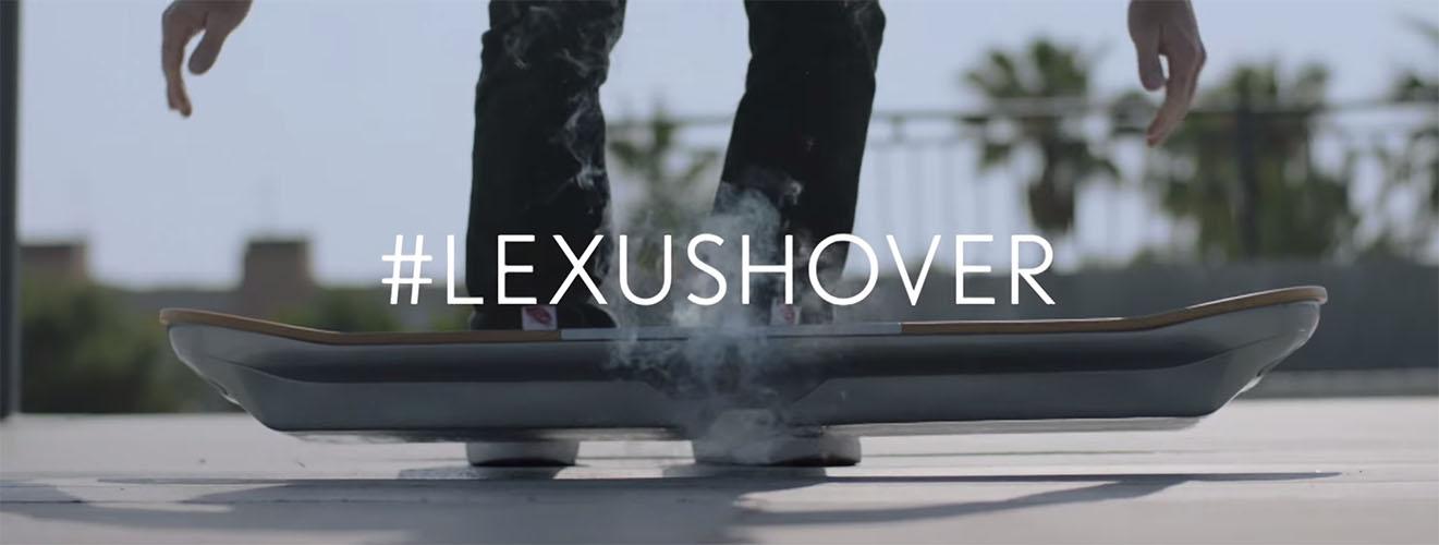L'hoverboard di Lexus verrà mostrato il 5 Agosto 2015
