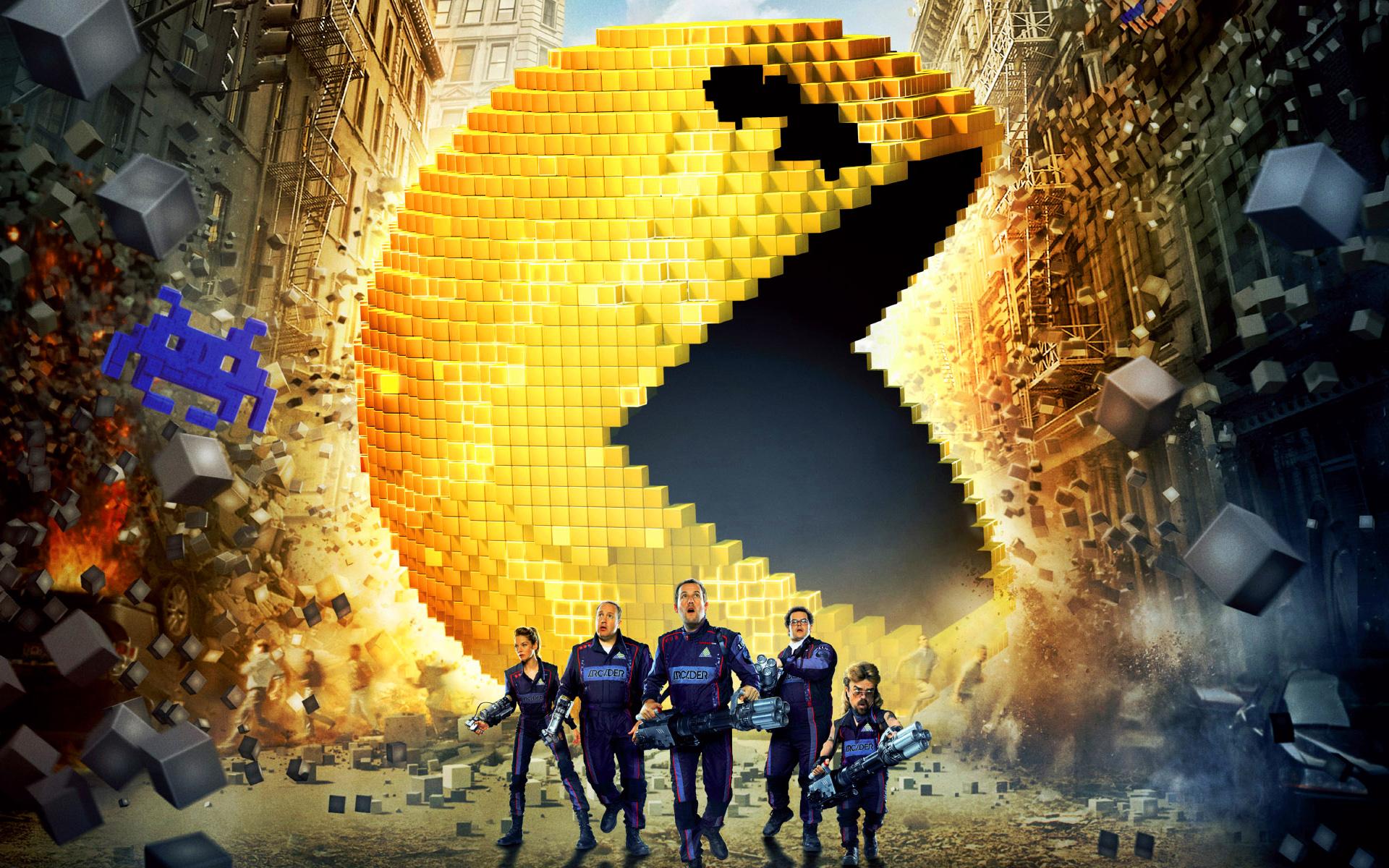 Pixels: Adam Sandler ha timbrato il cartellino, ma Space Invaders dov'è?