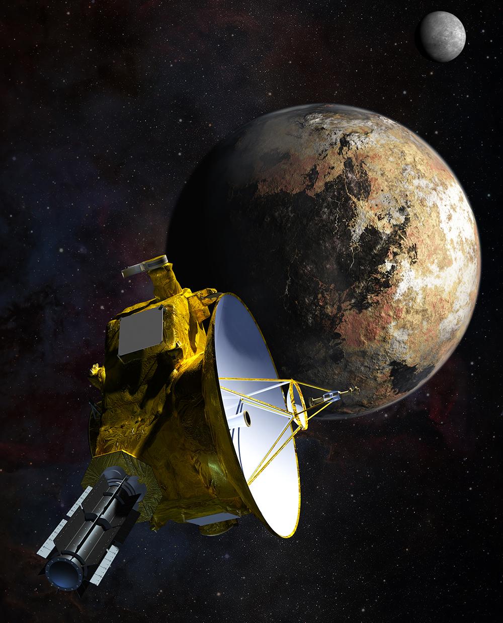 Saluti da Plutone