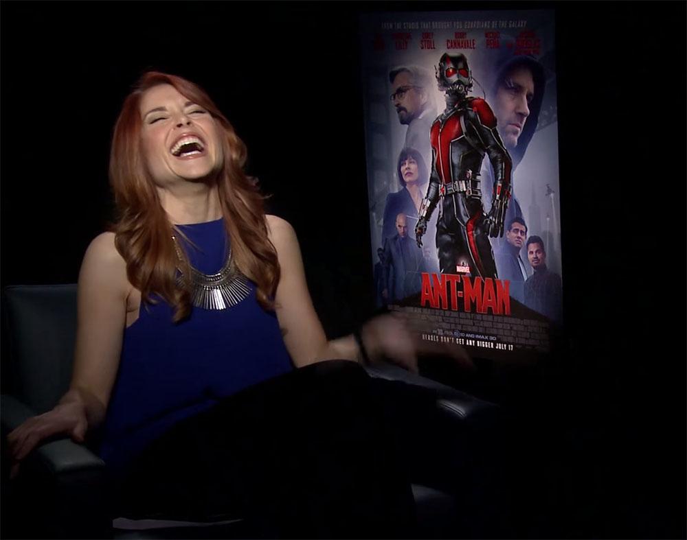 Ant-Man e l'intervista scoreggiante