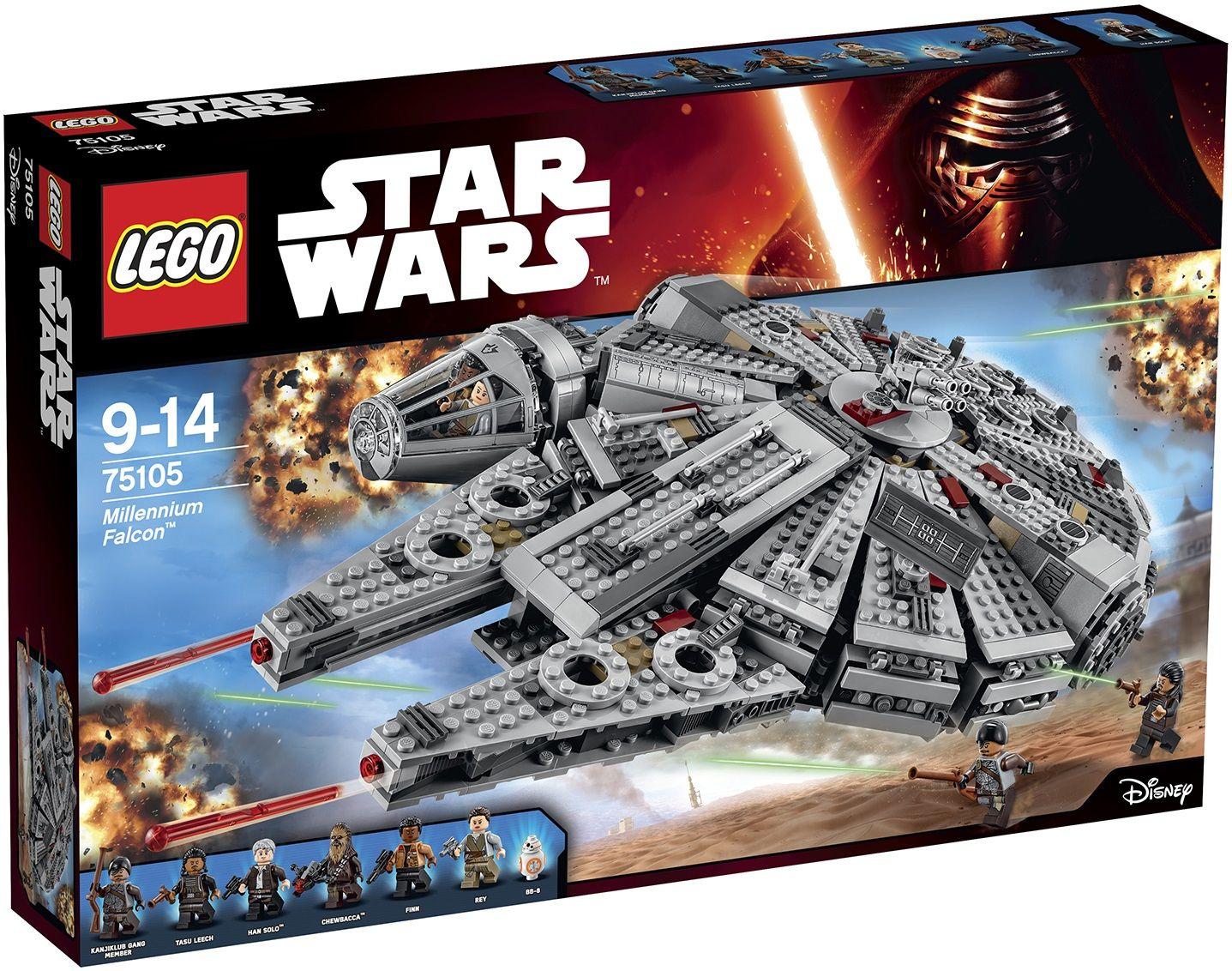 I nuovi set Lego di Star Wars: The Force Awakens