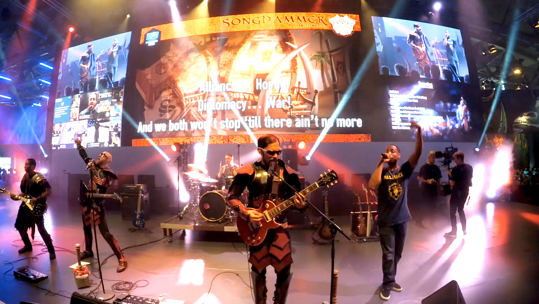 Blizzard Booth + Songhammer Live a Gamescom 2015!