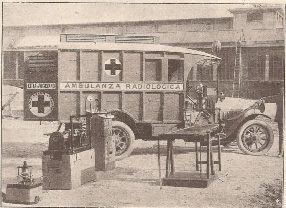 Ambulanza radiologica