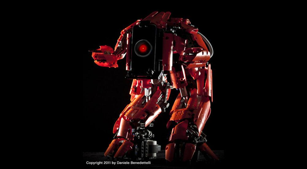 Cyclops, il robot Lego controllato a distanza