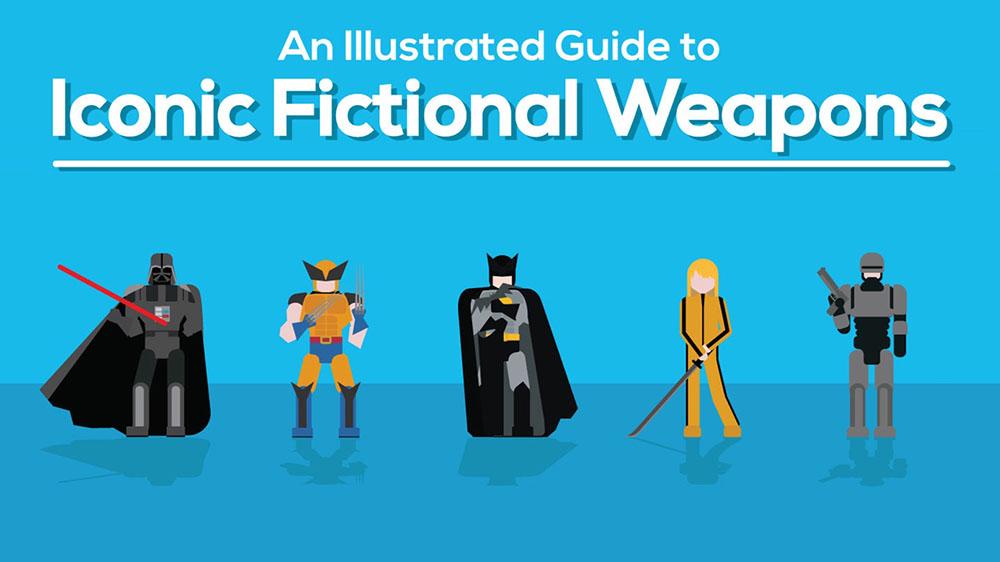 Guida illustrata alle più famose armi immaginarie