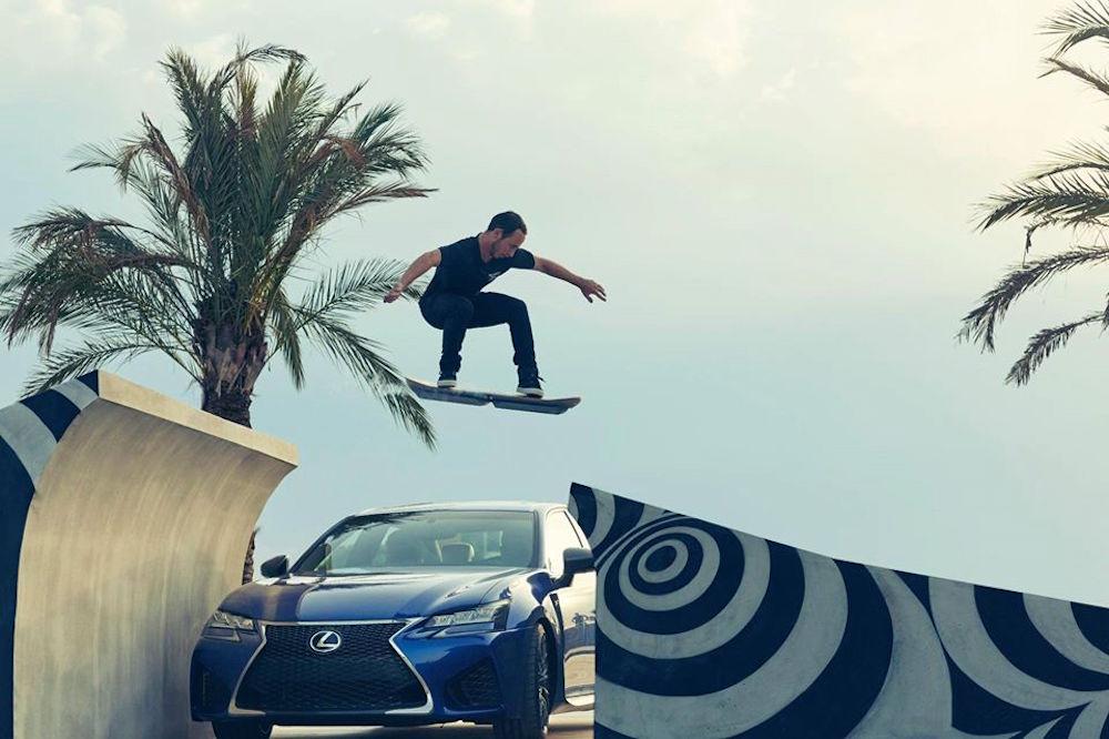 La Hoverboard di Lexus è tra noi