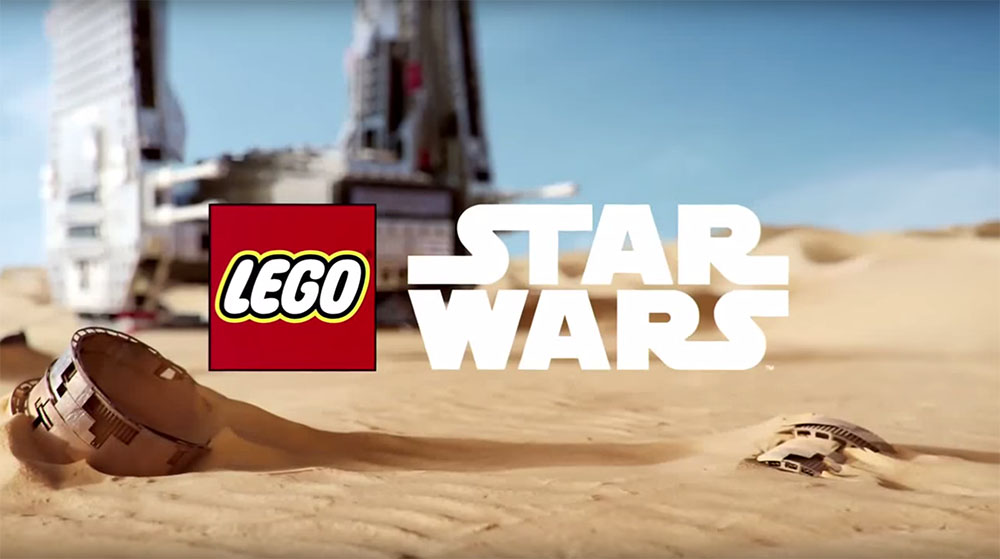 Lego Star Wars: The Force Awakens - Commercial