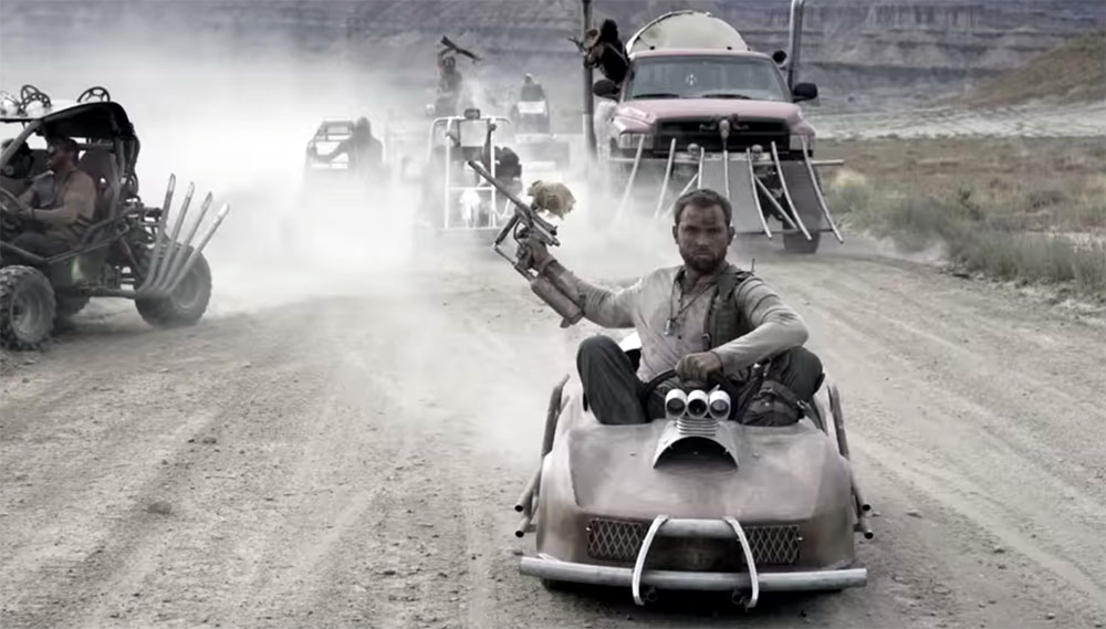 Mad Max Go-Kart Paintball War