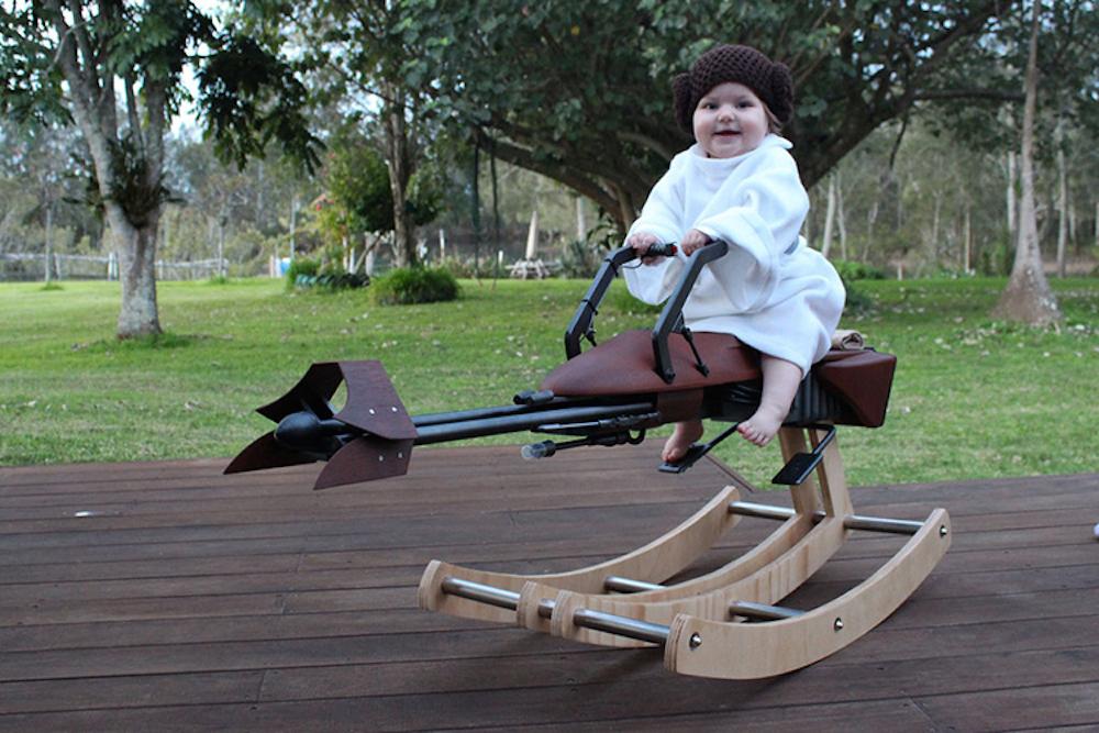Speeder Bike a dondolo