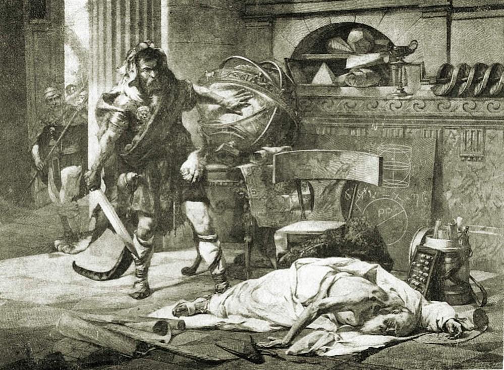 Edouard_Vimont_(1846-1930)_Archimedes_death