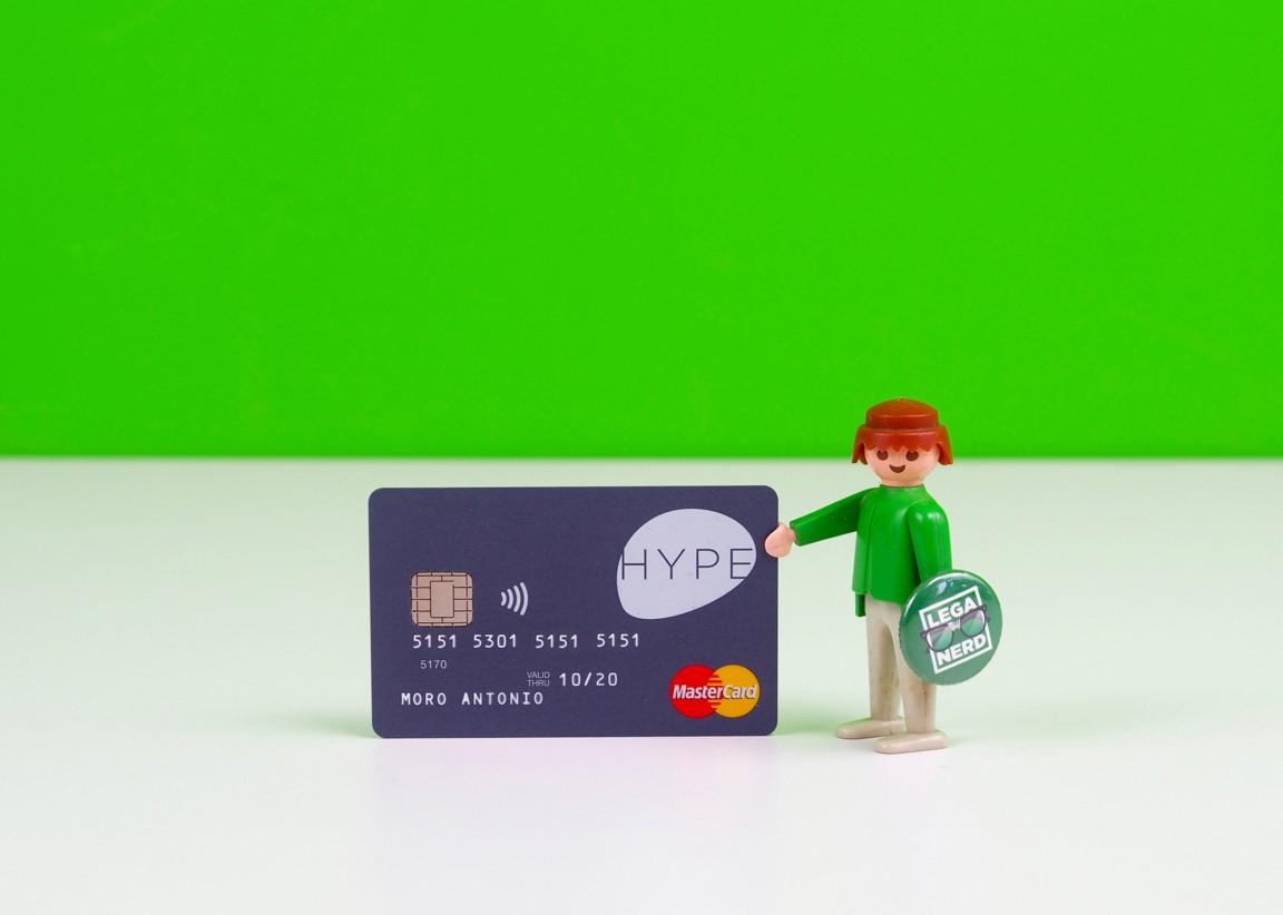 Hype, la carta ricaricabile e smart