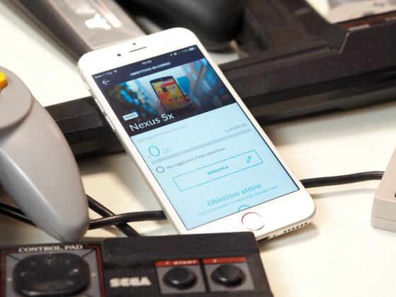 All'interno dell'app companion è possibile settare degli obbiettivi e la carta risparmierà i soldi automaticamente per voi... ma ne parliamo nel prossimo articolo, che è appena uscito il nuovo Nexus e ho altro da fare ora...